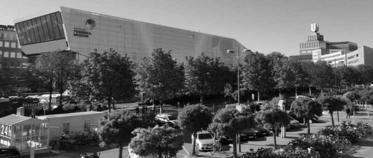 Kein Raumschiff, sondern das neu eröffnete Deutsche Fußballmuseum in Dortmund. (Foto: Creative Commons Attribution-Share Alike 4.0 International, Lucas Kaufmann)