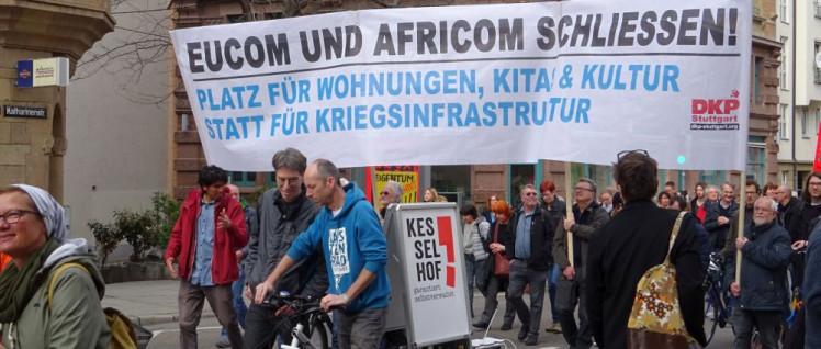 Frieden heißt, bezahlbare Wohnungen statt Kasernen (Foto: Konni Lopau)