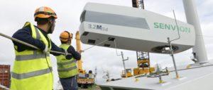 Im Bereich der Windenergie läuten die Alarmglocken. (Foto: Jan Oelker/Repower Systems SE)