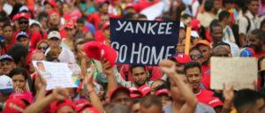 Demonstration gegen den Imperialismus am 9.März in Caracas (Foto: minci.gob.ve)