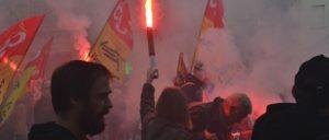 Protest gegen das neue Arbeitsgesetz der Regierung Macron (Foto: [url=https://www.flickr.com/photos/jmenj/37572386626/in/photostream/]Jeanne Menjoulet[/url])