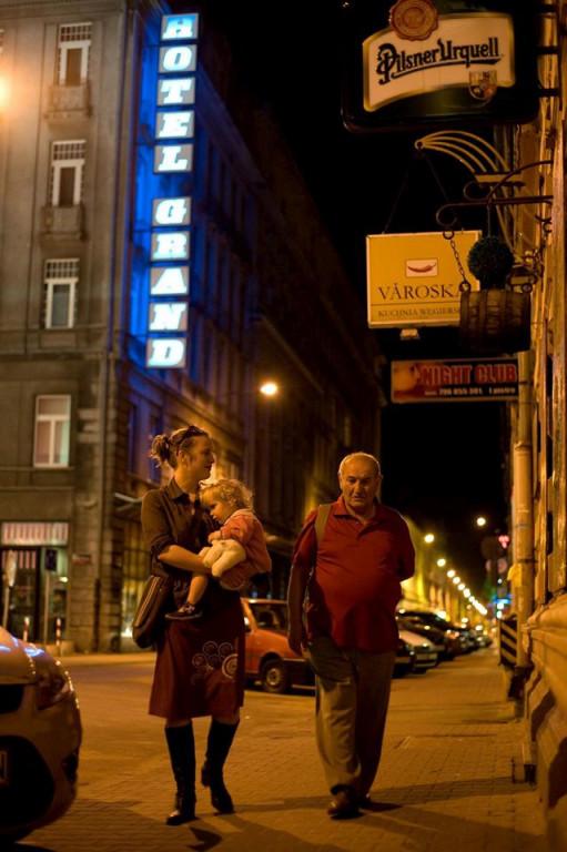 Tanja Cummings und Natan Grossmann in Lodz