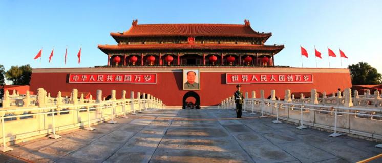 Das Tor des Himmlischen Friedens in Peking: Ein Symbol – aber wofür? (Foto: gemeinfrei)