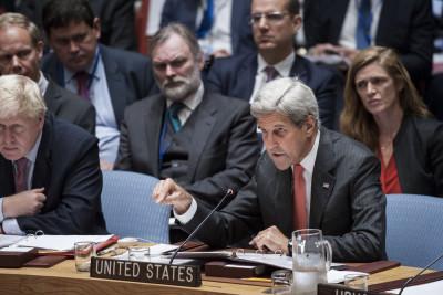 Der US-Außenminister John Kerry