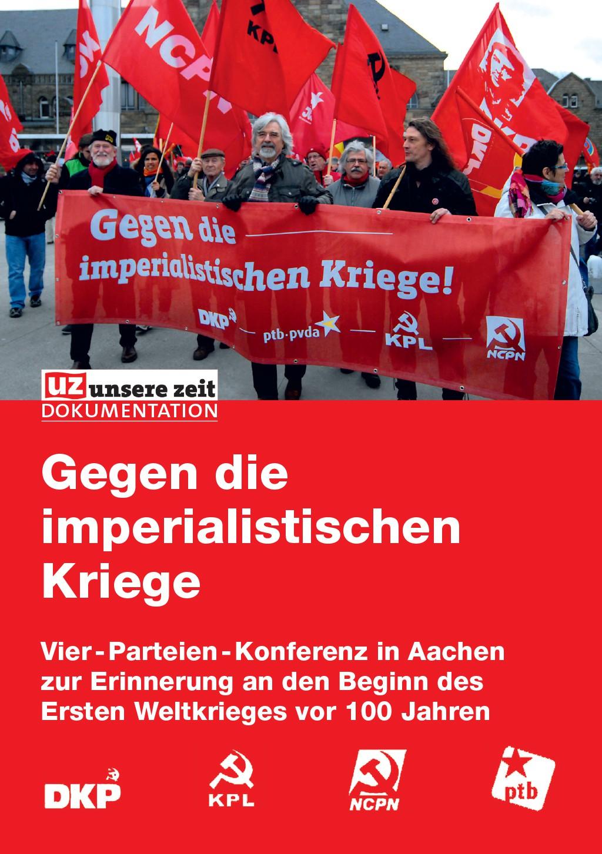 Gegen die imperialistischen Kriege