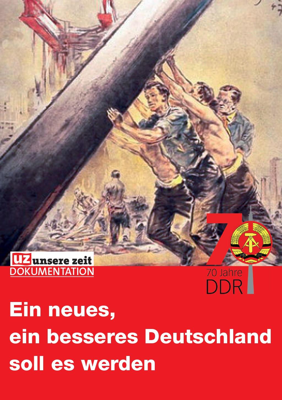 Ein neues, ein besseres Deutschland soll es werden