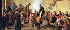 """""""Die Armensuppe"""" (Albert Anker, 1831 – 1910)"""