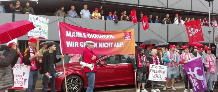 Aktionstag bei Mahle im Sommer 2019 (Foto: Christa Hourani)