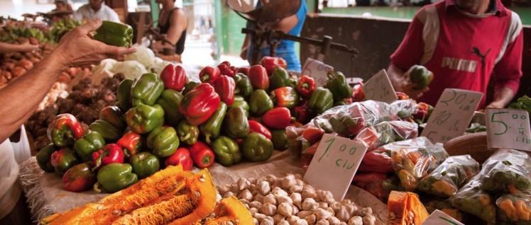 Die US-Blockade zielt auch auf die Versorgung der kubanischen Bevölkerung mit Lebensmitteln ab. (Foto: Jorge Royan / http://www.royan.com.ar / Lizenz: (CC BY-SA 3.0)