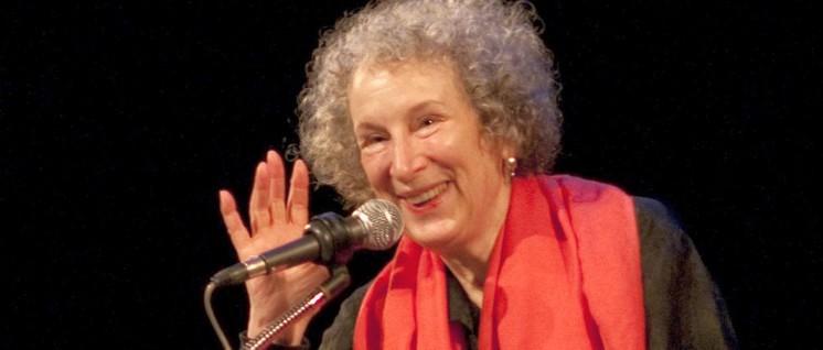 Margaret Atwood: freundlich, aber bestimmt (Foto: MarkHill / Lizenz: CC BY-ND 2.0)