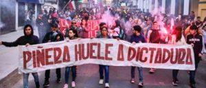 Piñera stinkt nach Diktatur                          (Foto: radionuevomundo)