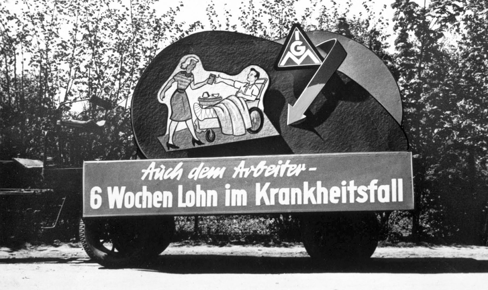 Metallarbeiterstreik in Schleswig-Holstein 1956 Die IG Metall forderte Lohnausgleich im Krankheitsfall, mehr Urlaub und Urlaubsgeld