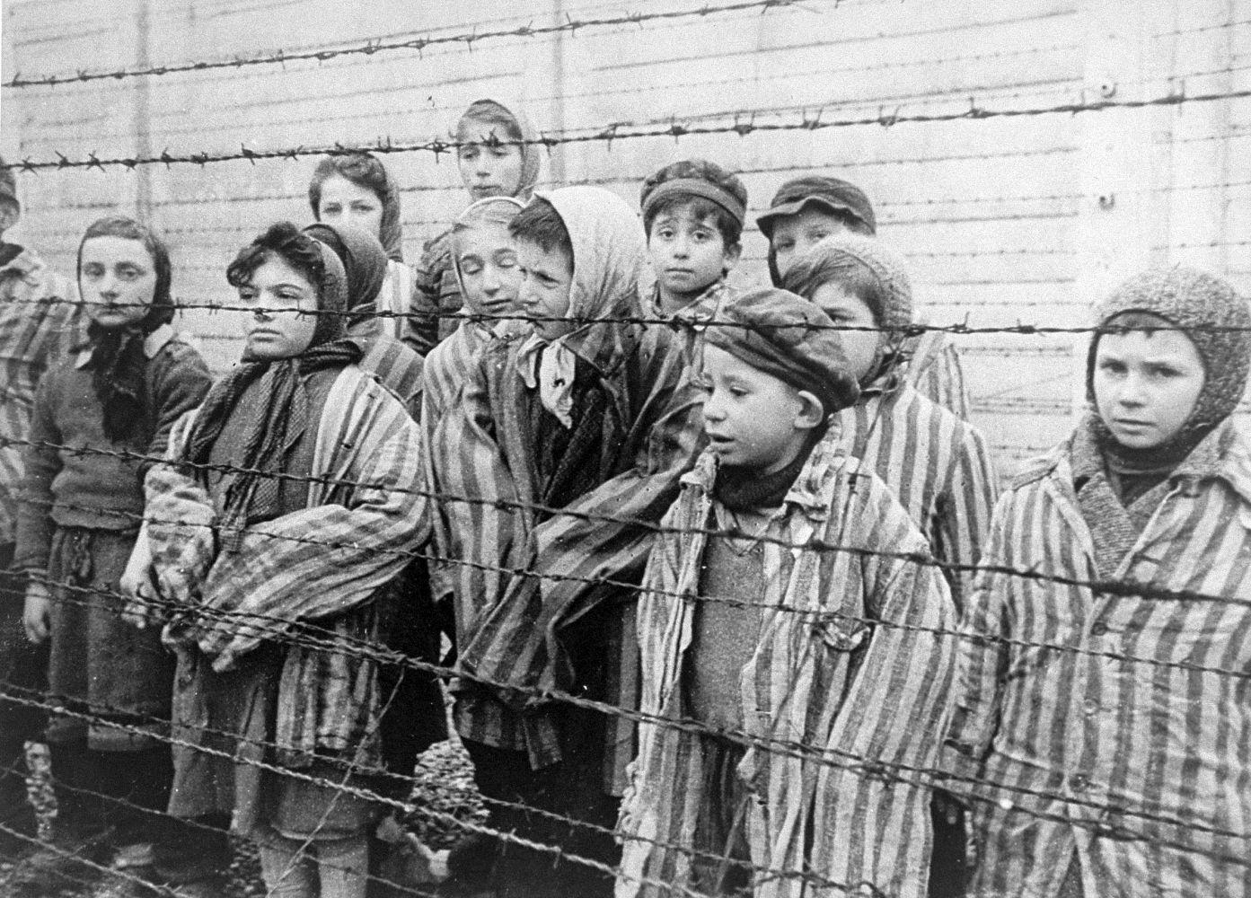 Auch Kinder wurden in der Fabrik zur Menschenvernichtung nicht geschont.