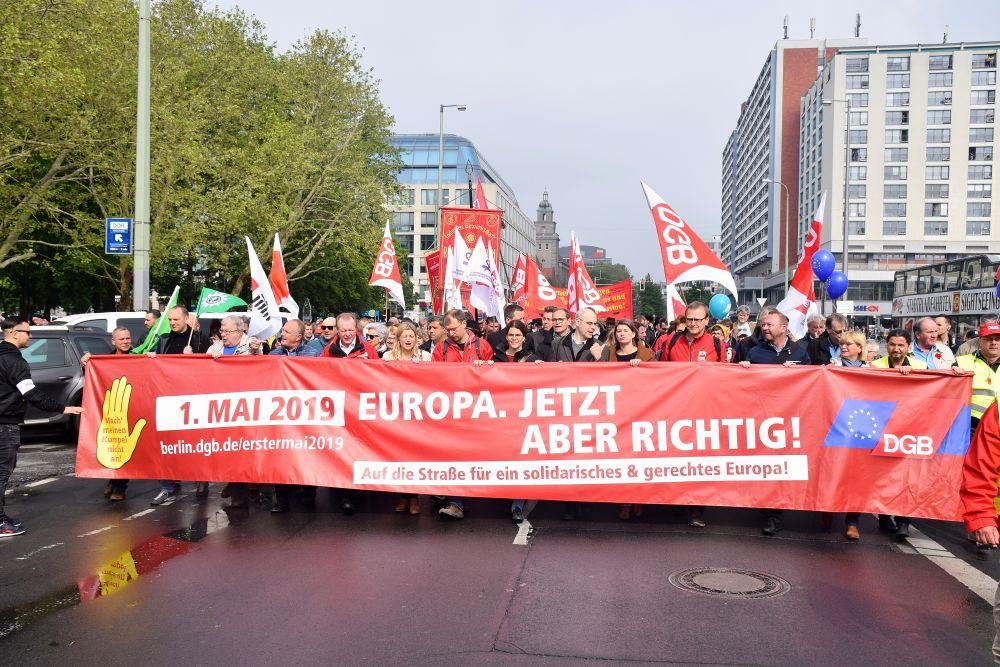 Schlimmer geht immer: DGB-Demo am 1.Mai 2019 in Berlin