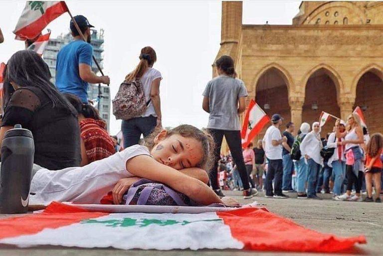 Unermüdlich: Die Proteste im Libanon dauern an.