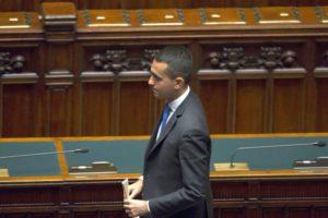 Stehen nach den Wahlen vor dem Scherbenhaufen seiner Rechtspolitik: Luigi Di Maio und seine Fünf-Sterne-Bewegung (Foto: Camera dei deputati).