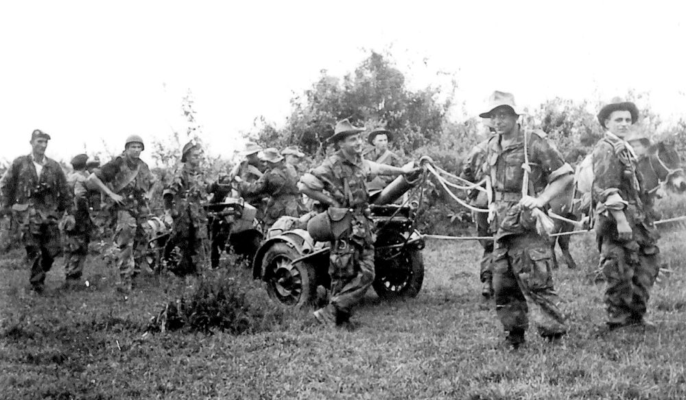 Viele Söldner der französichen Fremdenlegion waren ehemalige deutsche Soldaten.