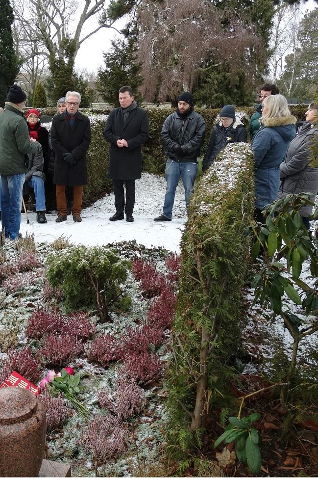 Gedenkstunde Merker (Foto: DKP Hof)