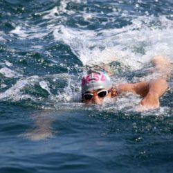 Der deutsche Friedensschwimmer
