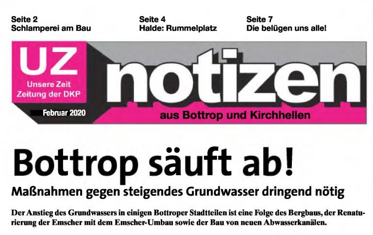 Die Kleinzeitung der DKP Bottrop