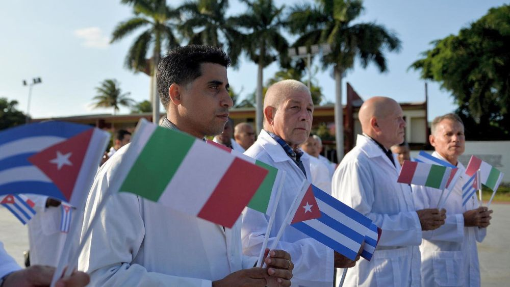 Kubanische Mediziner in Italien