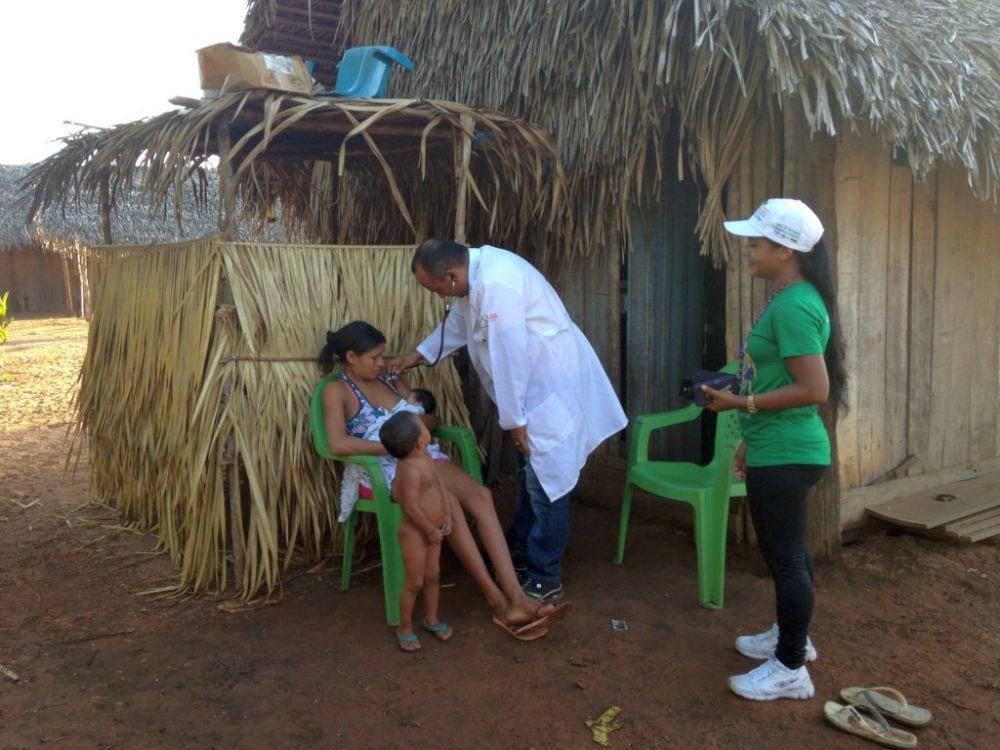 Kubanischer Arzt in Brasilien