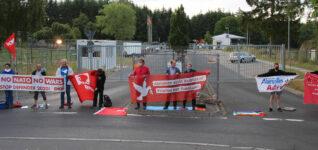 DKP und SDAJ blockieren Atomwaffendepot