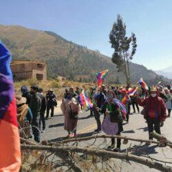 Generalstreik und Blockadeaktionen