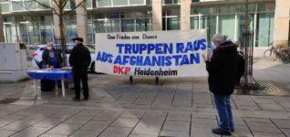 Bundeswehr raus aus Afghanistan