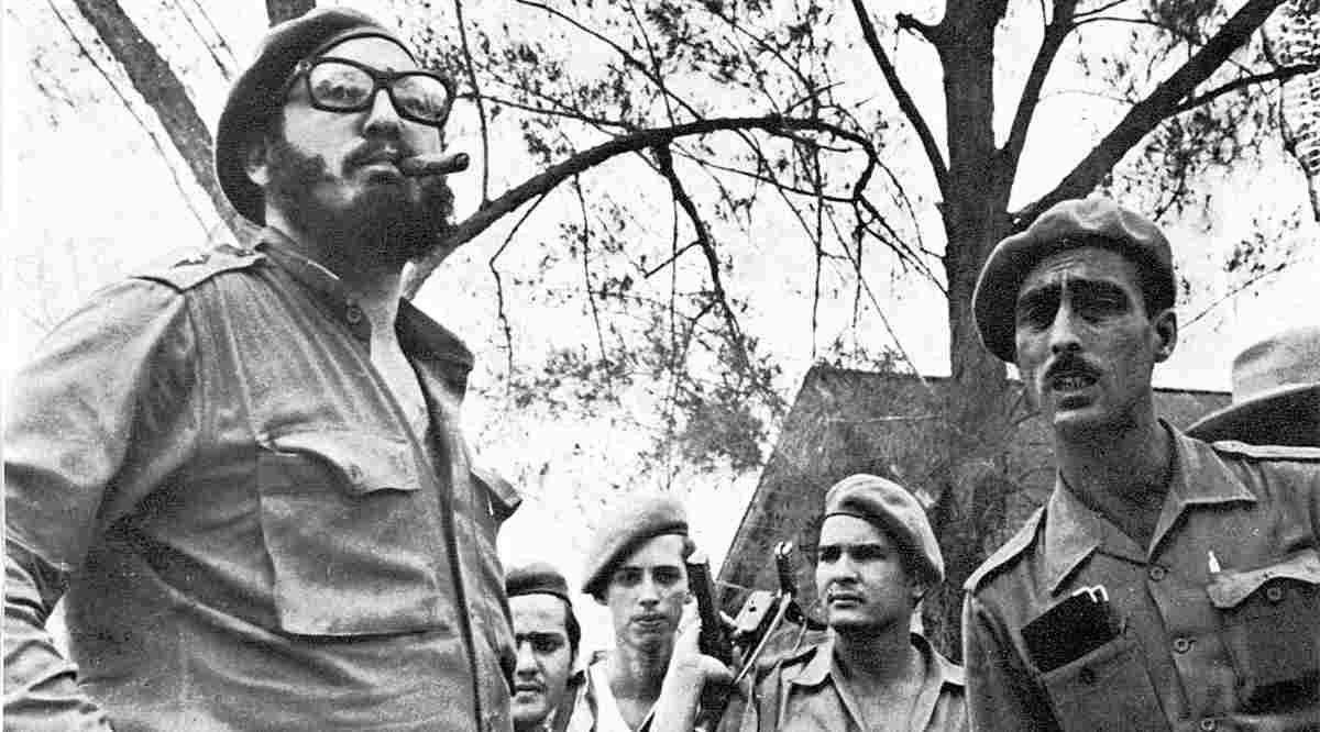 Fidel Castro befehligte persönlich die revolutionären Streitkräfte in der Schweinebucht