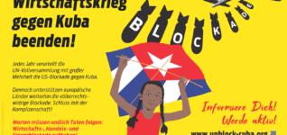 """Europäische Solidaritätsaktion """"Unblock Cuba"""" startet am Samstag"""