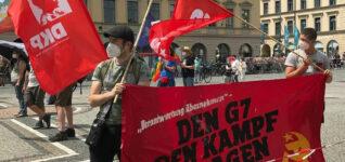 Gegen G7 und NATO
