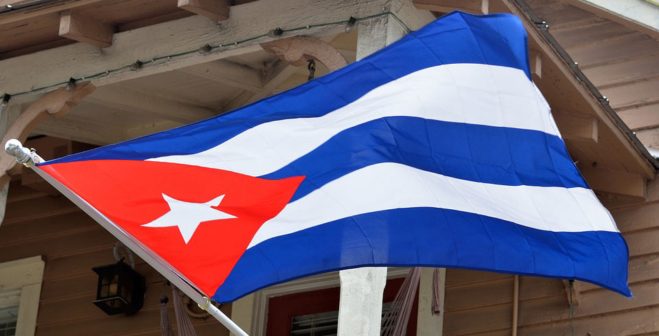 Kuba-Fahne