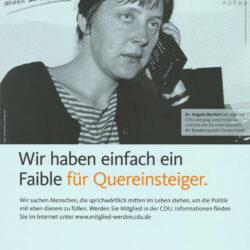 Angela Merkel– die unterschätzte Versagerin
