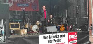 Wahlkampfabschluss in Dortmund